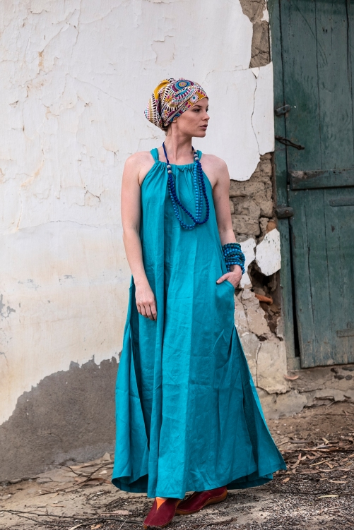 Fashion Shoot for Kattoo Boutique with model Little Harlequin at Kersefontein Farm, South Africa